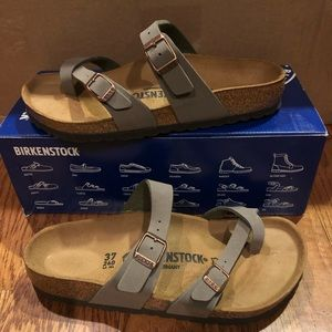 Birkenstock Mayari Stone 6 Medium New